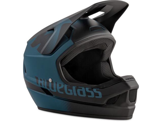bluegrass Legit Casque, petrol blue/black/texture